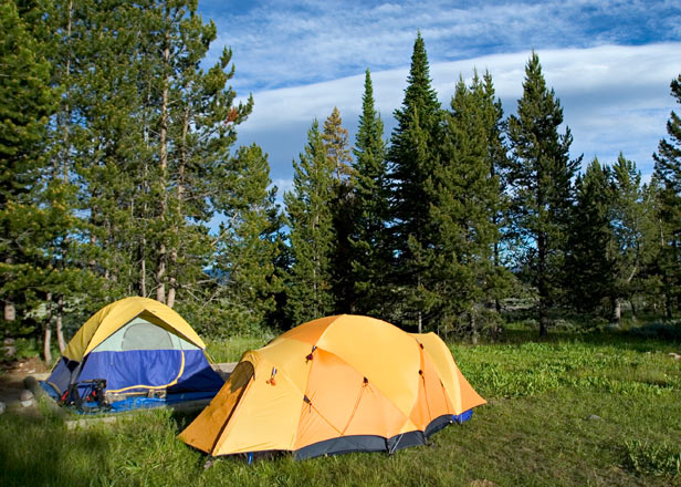 The Five Best Places To Camp In Yellowstone